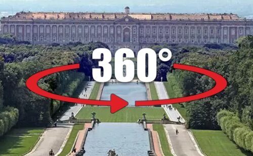 360 Gradi Visita Virtuale Logo 500x309, Unofficial website of the Royal Palace in Caserta