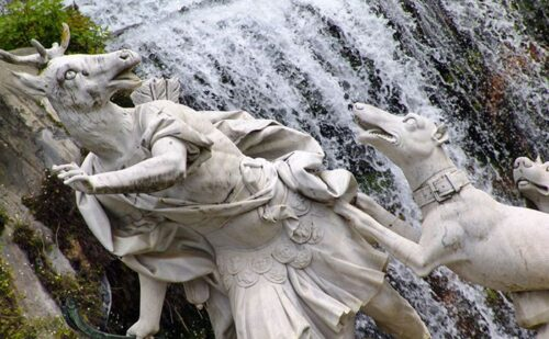 4 Fountain Diana Atteone Waterfall Caserta Palace1 1 500x309, Unofficial Website of the Royal Palace of Caserta