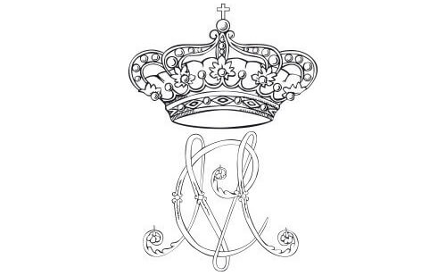 BORBONE Monogramma Maria Chiara 1, Unofficial Website of the Royal Palace of Caserta