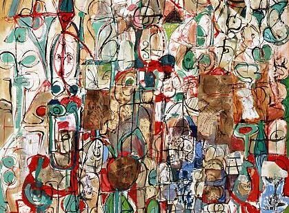 "George Condo ""Mother Earthquake"""