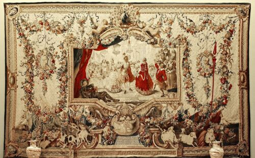 Arazzo Caserta Capodimonte 1 500x309, Unofficial Website of the Royal Palace of Caserta