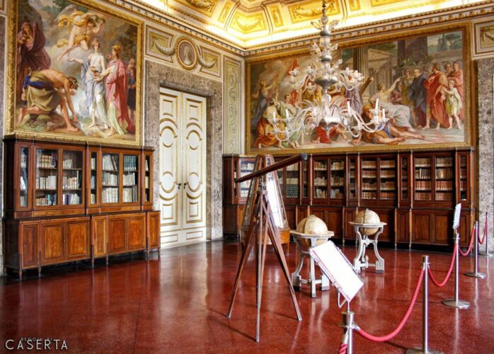 Biblioteca Reggia Di Caserta Wat 698x500, Sito non ufficiale della Reggia di Caserta