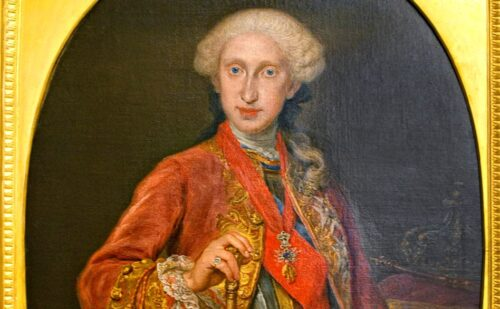 Borbone Carlo Iii Capodimonte 1 500x309, Unofficial Website of the Royal Palace of Caserta
