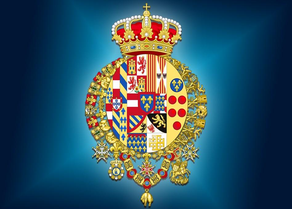 Caserta Borbone Stemma Regno Due Sicilie, Reggia di Caserta UnOfficial