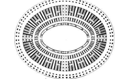 Caserta Capua Anfiteatro Spartaco Pianta 500x309, Reggia di Caserta UnOfficial
