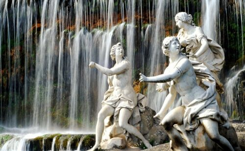 Caserta Fontana Diana Atteone Statue 1 500x309, Unofficial Website of the Royal Palace of Caserta