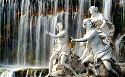 Caserta Fontana Diana Atteone Statue 500x309, Sito non ufficiale della Reggia di Caserta