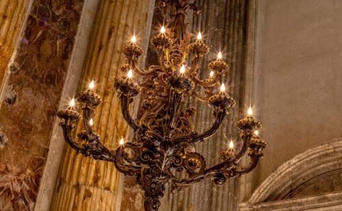 Caserta Lampadario Barocco Cappella Palatina 500x309, Sito non ufficiale della Reggia di Caserta