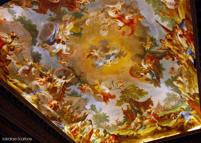 Caserta Sala Alessandro Affresco 1 700x500, Unofficial Website of the Royal Palace of Caserta