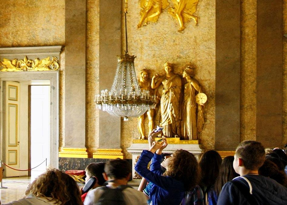 Caserta Visita Vrtuale Sfondo, Unofficial website of the Royal Palace in Caserta