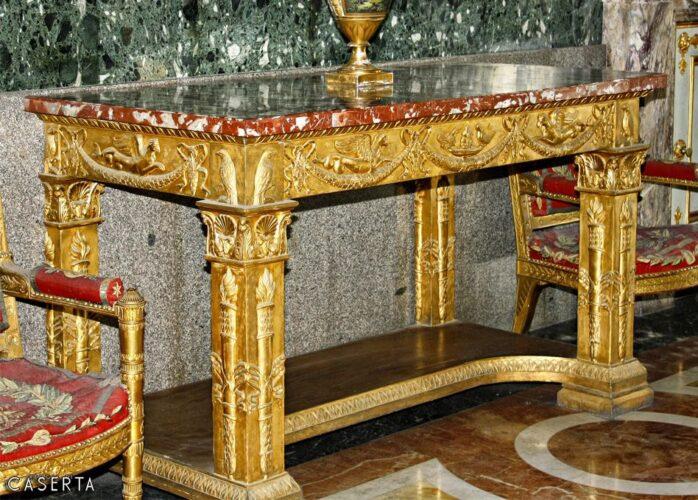 Consolle Impero Caserta Wat 1 698x500, Reggia di Caserta UnOfficial