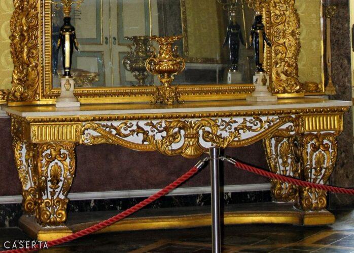 Consolle Ottocento Caserta Wat 1 698x500, Reggia di Caserta UnOfficial