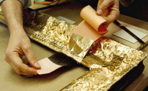Doratura Oro Foglia 500x309, Sito non ufficiale della Reggia di Caserta