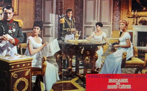 Film Caserta Madame Sans Gene Loren 1 500x309, Reggia di Caserta UnOfficial