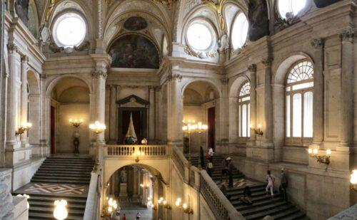 Francesco Sabatini Vanvitelli Palazzo Reale Madrid 2 500x309, Reggia di Caserta UnOfficial