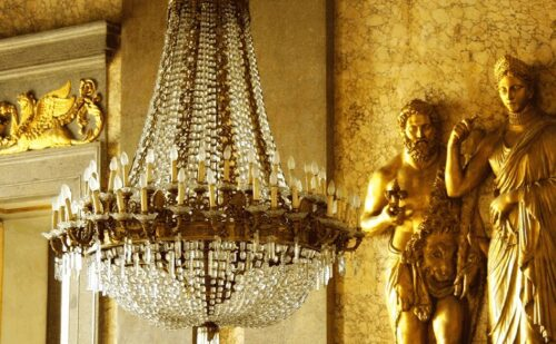 Lampadario Impero Caserta Wat 1 500x309, Unofficial Website of the Royal Palace of Caserta