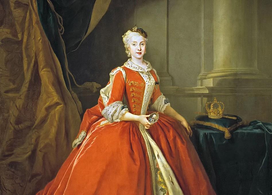 Louis De Silvestre Maria Amalia Di Sassonia 1738 Ritagliato, Reggia di Caserta UnOfficial