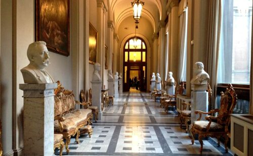 Montecitorio Sala Gialla Caserta 1 500x309, Unofficial Website of the Royal Palace of Caserta
