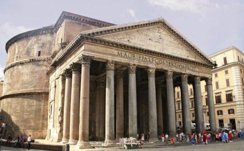 Pantheon Piccola 500x309, Sito non ufficiale della Reggia di Caserta