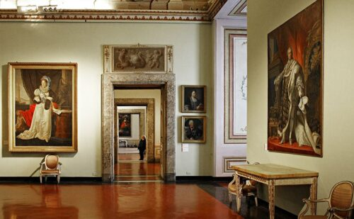 Pinacoteca Reggia Caserta 1 500x309, Unofficial Website of the Royal Palace of Caserta