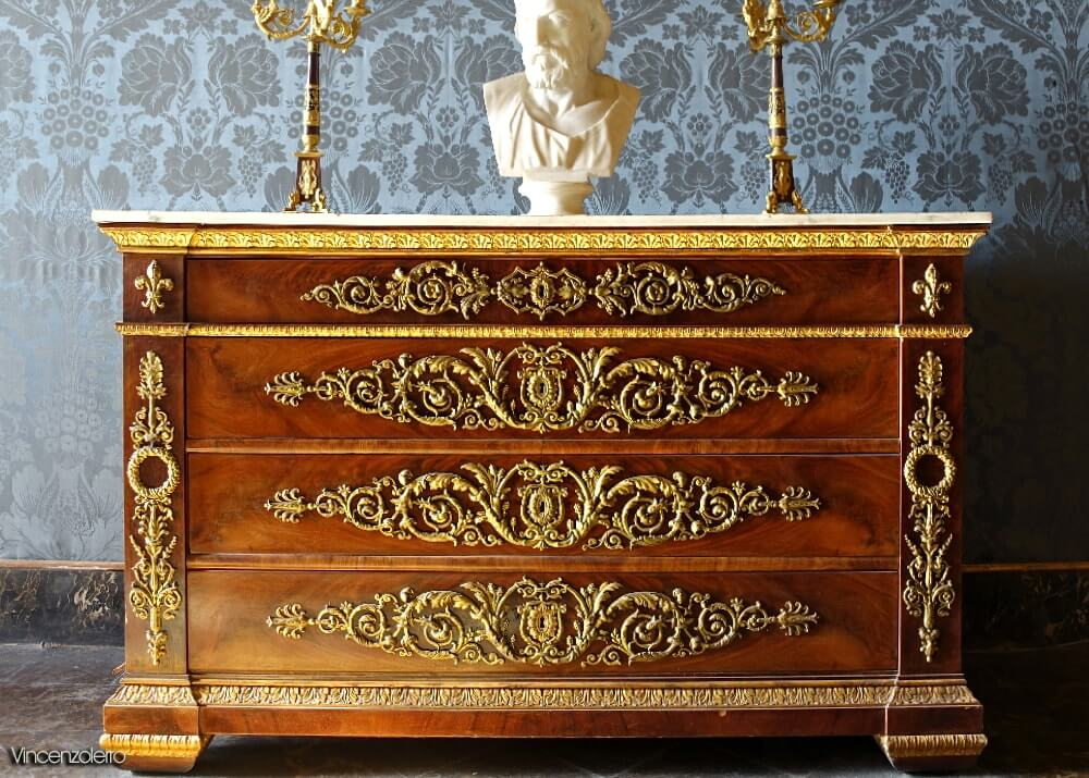 Bedroom of King Francis II - Royal Palace of Caserta