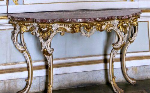 Reggia Caserta Console Rococo 500x309, Sito non ufficiale della Reggia di Caserta