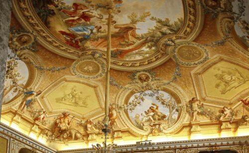 Reggia Caserta Soffitto Rococo 1 500x309, Sito non ufficiale della Reggia di Caserta