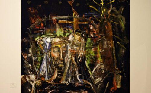 """Julian Schnabel """"Veronica's Veil"""", 1984"""