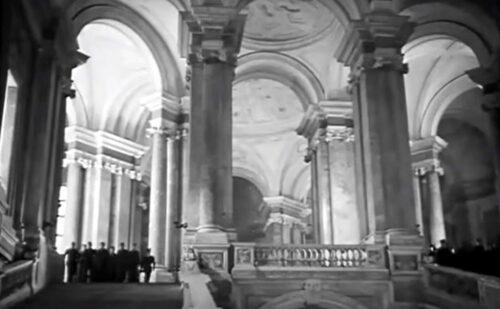 Reggia Di Caserta Film I Tre Aquilotti 2 500x309, Reggia di Caserta UnOfficial