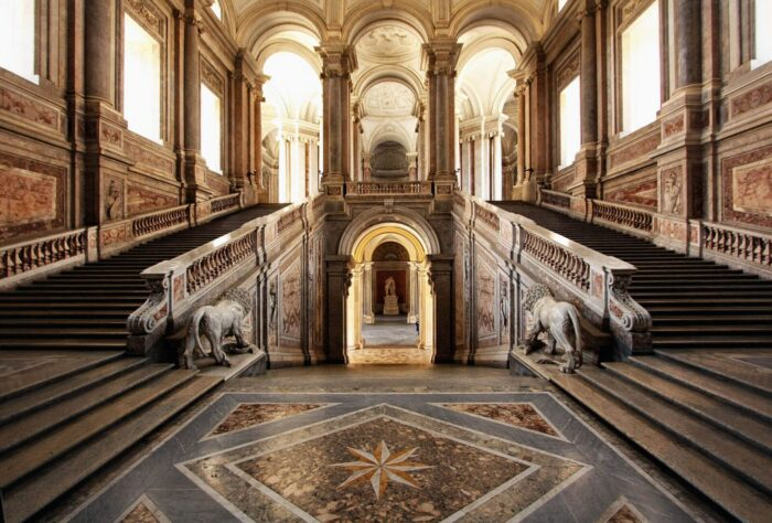 Reggia Di Caserta Scalone 1 1 1 1 700x474, Unofficial Website of the Royal Palace of Caserta