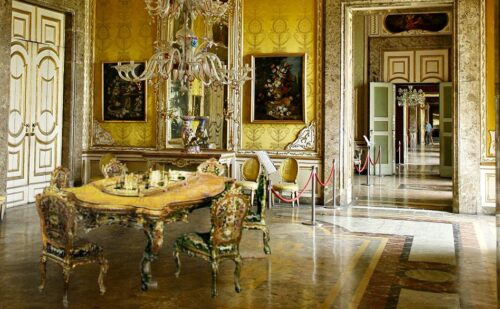 Sala Autunno Fotomontaggio 500x309, Unofficial website of the Royal Palace in Caserta