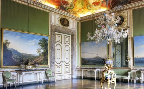 Sala Primavera 1 500x309, Unofficial Website of the Royal Palace of Caserta