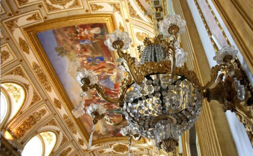 Sala Trono Applique Wat 1 500x309, Unofficial Website of the Royal Palace of Caserta
