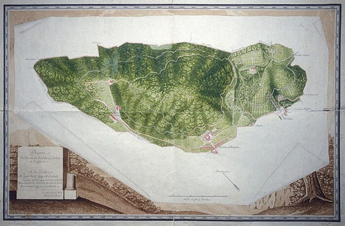 San Silvestro Oasi Map 700x459, Unofficial website of the Royal Palace in Caserta
