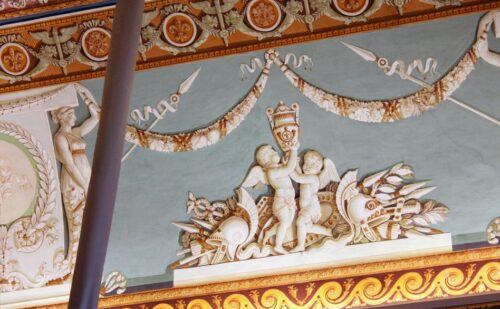 Soffitto Murat Wate 1 500x309, Unofficial Website of the Royal Palace of Caserta